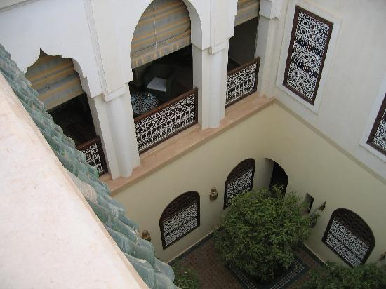 Riyad Al Moussika: Our private balcony viewed from the terrace
