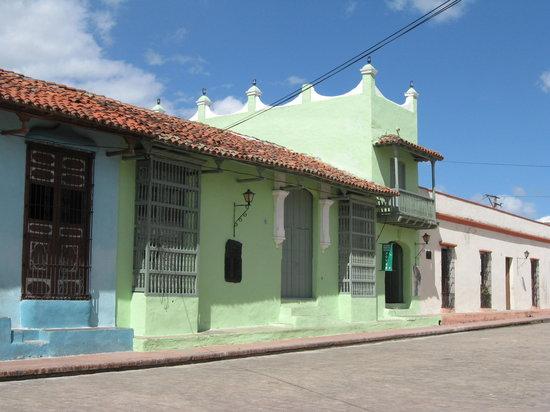 Camaguey, Cuba: Plaza San Juan de Dios
