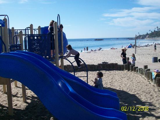 Laguna Beach - Main Beach playground