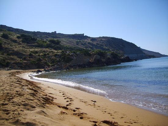 Sannat, Malta: Plage de Ramla Bay