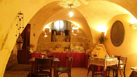 Jerusalem Hotel: breakfast room