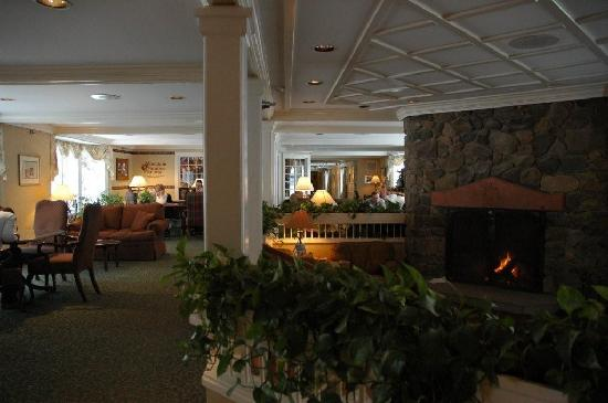 Stoweflake Mountain Resort & Spa: View from lobby