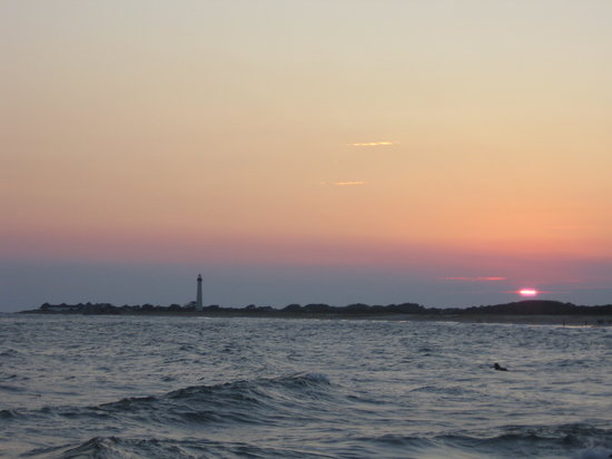 Cape May, NJ : Sunset - The Cove