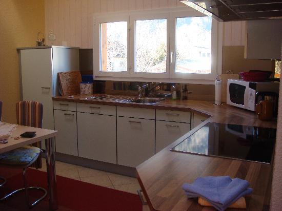 Gasthof Hirschen: kitchen