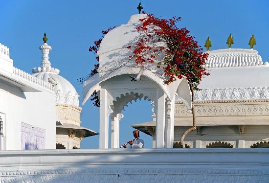 Taj Lake Palace Udaipur: The flutist,very pleasant