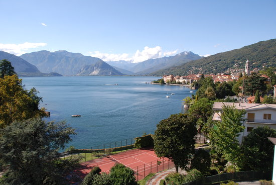 Verbania, İtalya: The view from our room....