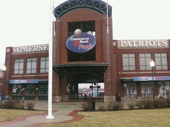 Hilton Garden Inn Bridgewater: Minor league ballpark a couple of blocks away