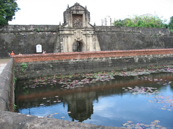 Manila, Filipiny: Fort Santiago