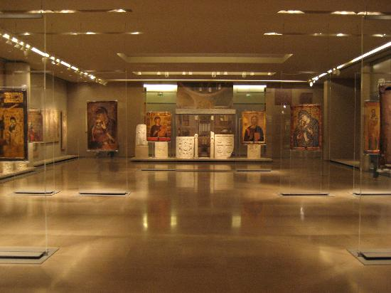 Byzantine & Christian Museum : Icons on display - beautifully presented