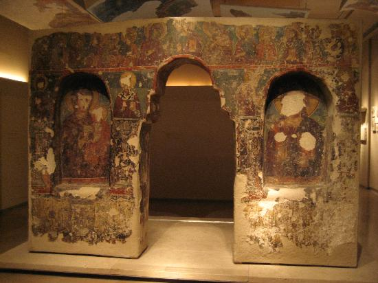 Byzantine & Christian Museum : Wall paintings