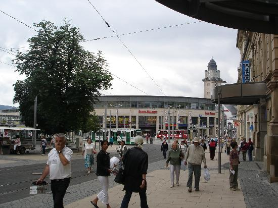 Plauen City Center A New Shopping Mall In The Middle Of A