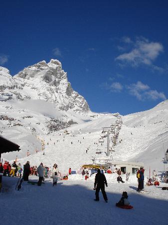 Hotel Perruquet : Matterhorn from Italian side
