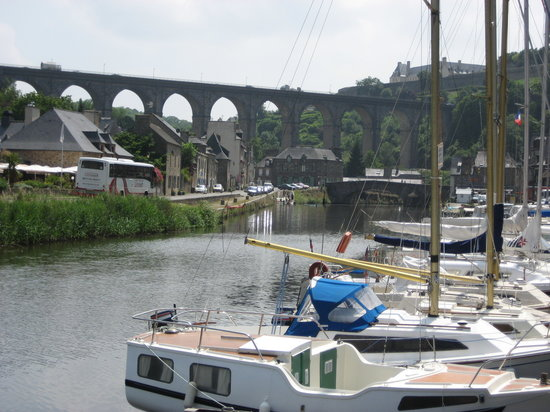 Dinan, Frankreich: The old port