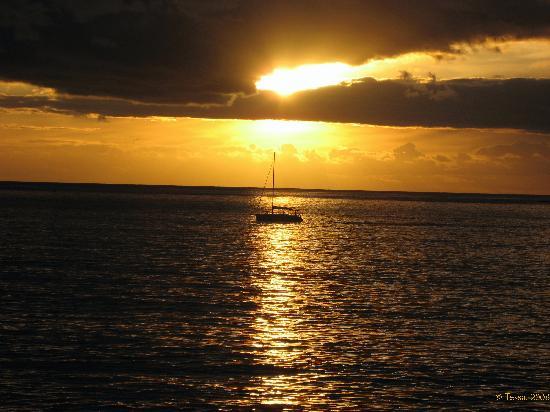 Gran Tacande Wellness & Relax Costa Adeje: Sunset from Casa del duque