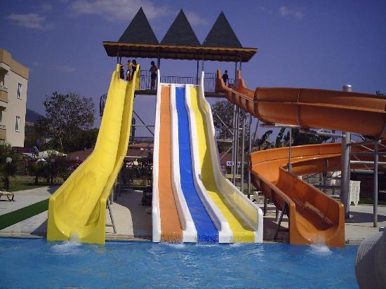 Eftalia Resort Hotel: waterslide