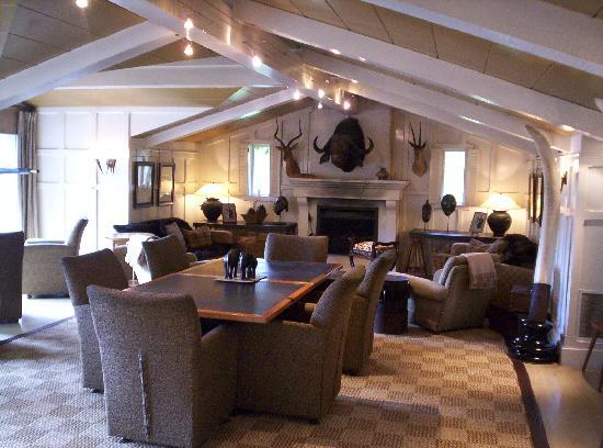 Huka Lodge: palazzo principale