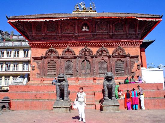 Kathmandu, Nepal: centro historico de Kathmandú