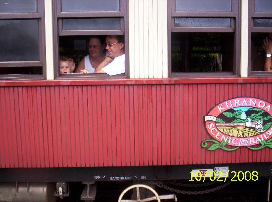 Kuranda Scenic Railway: scenic rail