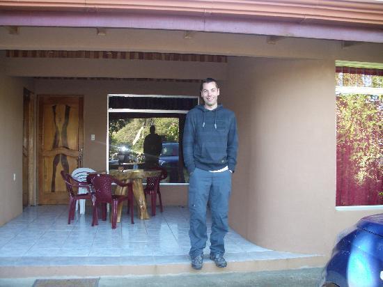 Monteverde Rustic Lodge : Terrace