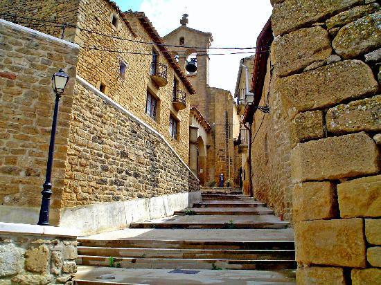 Navarra, Spain: calles empinadas