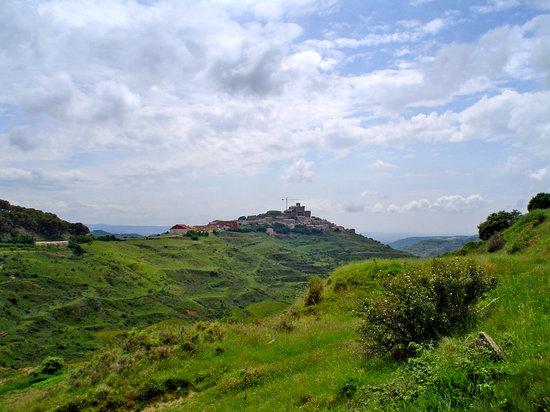 Navarra, Espanha: vista de Ujué