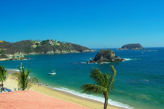 Barcelo Huatulco: view from the room