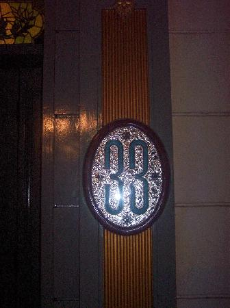 The Club 33 entrance