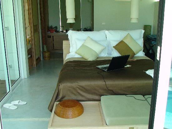 Aleenta Phuket Resort & Spa: Pool Suite bedroom