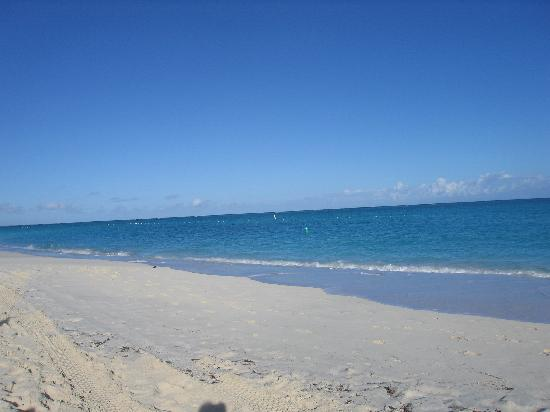Villa Renaissance: Beach in front of the property