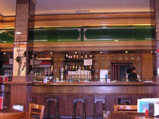 Hotel Florida: Cafetería-restaurante