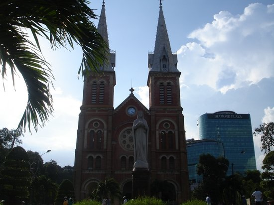 Ho Chi Minh City, Vietnam: Nothredam Cathedral