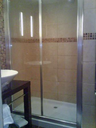 Castle Murray House Hotel & Restaurant: The shower