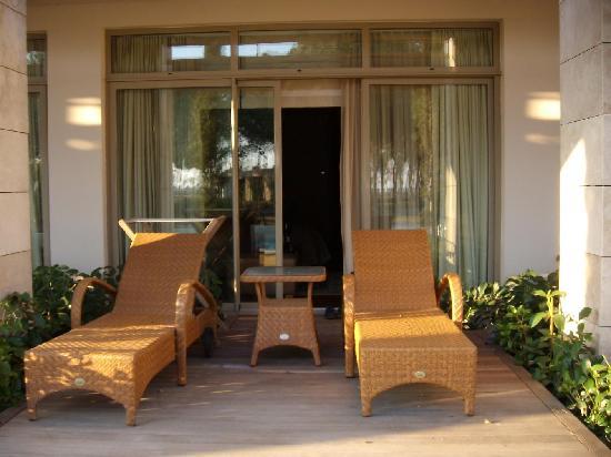 Gloria Serenity Resort: Gloria Serenity: Terrasse