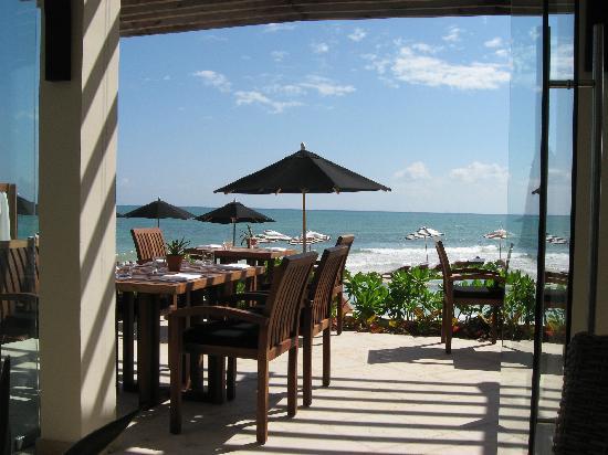 Rosewood Mayakoba: beachside restaurant