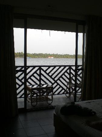 Emarald Pristine Island Floating Resort: Balcony of Room