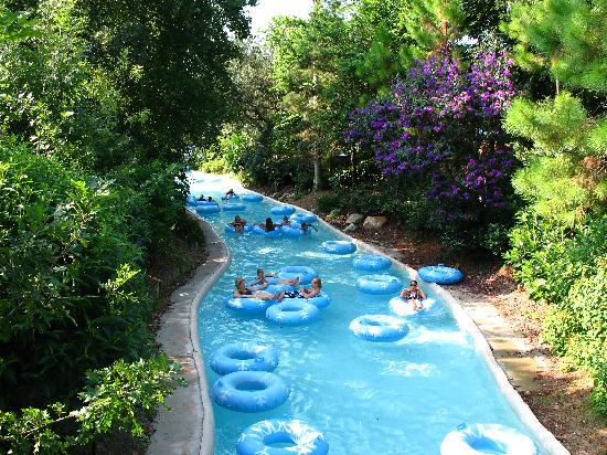 Disneys Blizzard Beach Water Park Cross Country Creek Lazy River