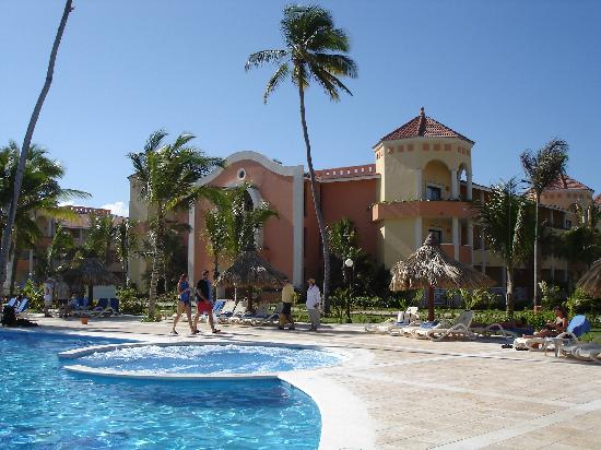 Luxury Bahia Principe Ambar Blue Don Pablo Collection: Building 64 from the pool