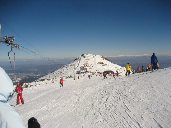 Hotel Lion: slope at top of gondola
