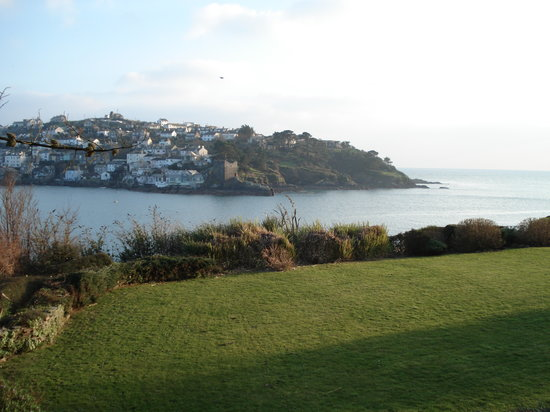 Fowey, UK : Another veiw from the hotel
