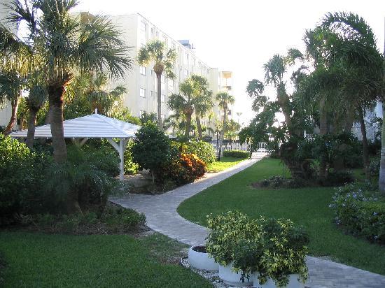 Alden Suites: hotel walkway