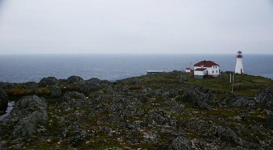Quirpon Lighthouse Inn: The inn and lighthouse at Quirpon