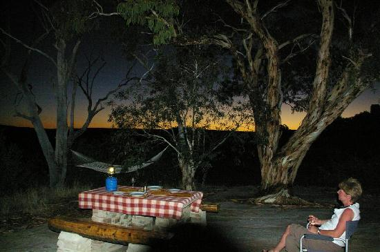 Nieuwoudtville, Afrique du Sud : waiting for dinner