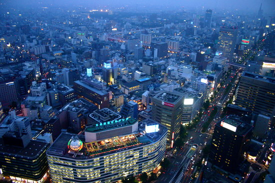 Nagoya Marriott Associa Hotel: Your 'lost in translation' view