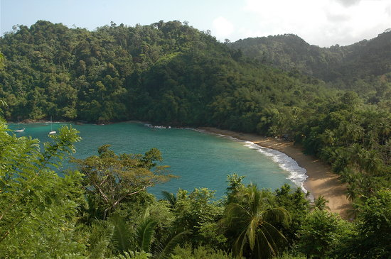 Tobago : Englishmans Bay Beach - Notice no people because it is not 100% safe or hassle free