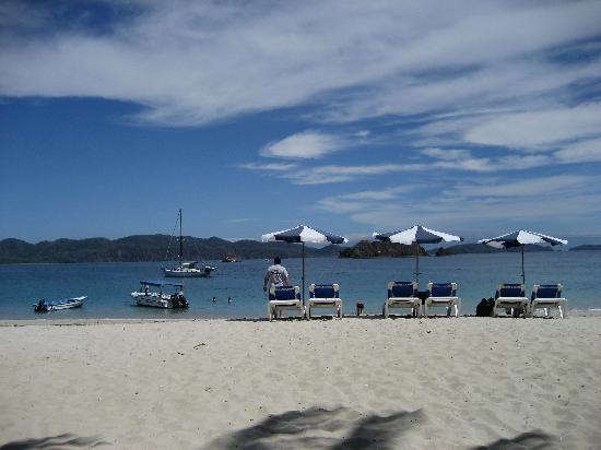 Bahia de los Delfines: Beach at Isla Tortuga