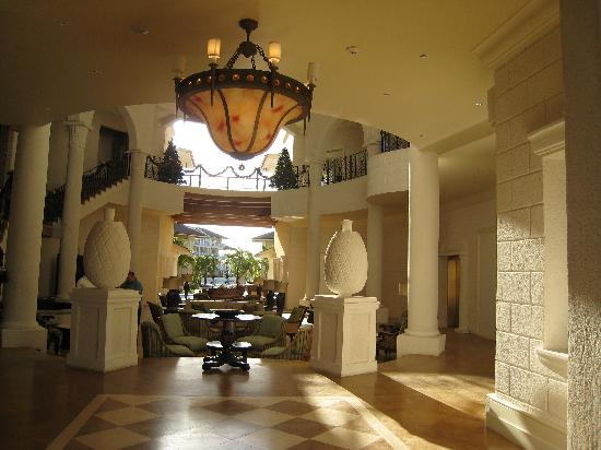 The Landings St. Lucia: The Main Entrance