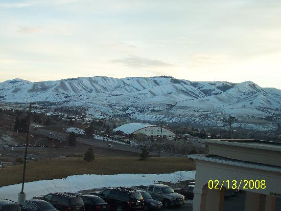 Hampton Inn & Suites Pocatello: View of ISU from room