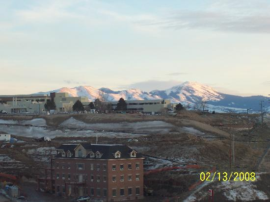 Hampton Inn & Suites Pocatello: View south from room