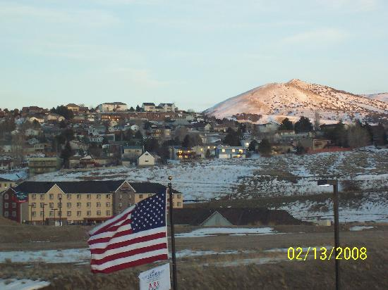 Hampton Inn & Suites Pocatello: South east view from room