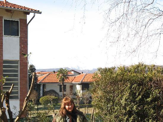 Hotel La Villa: view from back porch